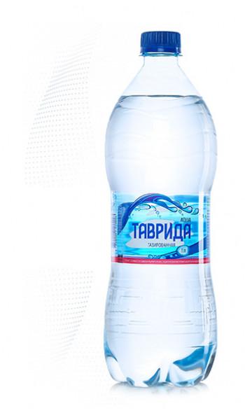 Артезианская вода  ТАВРИДА  газированная  (1л)