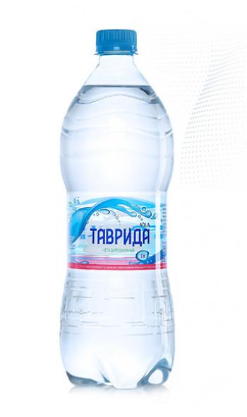 Артезианская вода  ТАВРИДА  негазированная (1л)
