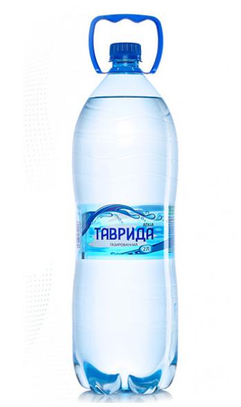 Артезианская вода  ТАВРИДА  газированная (2л)